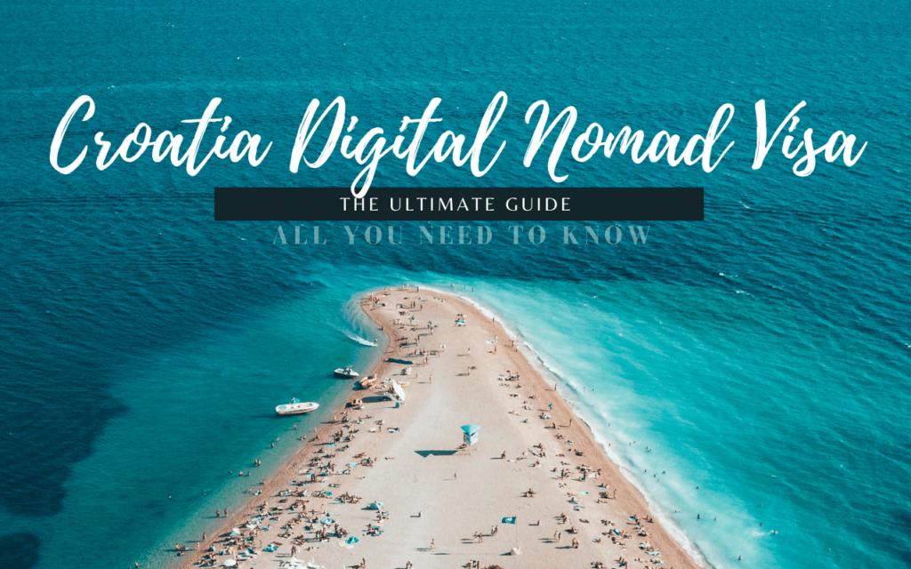Croatian Digital Nomad Visa 克羅埃西亞 數位遊牧簽證